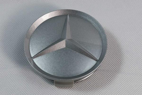 """Nabendeckel Mercedes Stern für Lorinser Felge """"Gullideckel"""" und Original Mercedes Felge"""