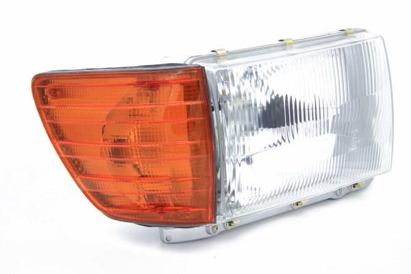 Scheinwerfer für Mercedes W 107 SL und SLC rechts mit Leuchtweitenregulierung