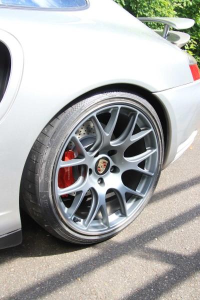 Kompletträder BBS CH für Porsche 996 Turbo