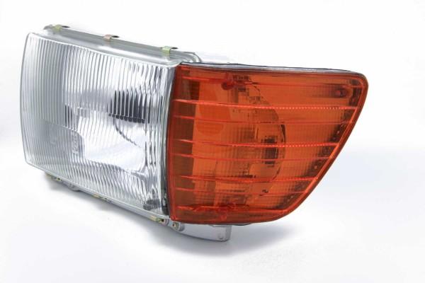 Scheinwerfer für Mercedes W 107 SL und SLC links mit Leuchtweitenregulierung